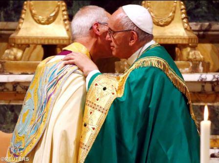 """Католики и англикпане подписали декларацию о преодолении доктринальных разногласий и проповеди """"смелого реального экуменизма"""""""