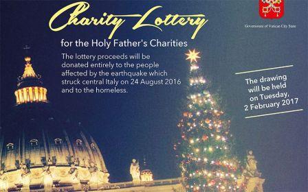 В Ватикане объявлена лотерея в пользу пострадавших от землетрясения в Италии