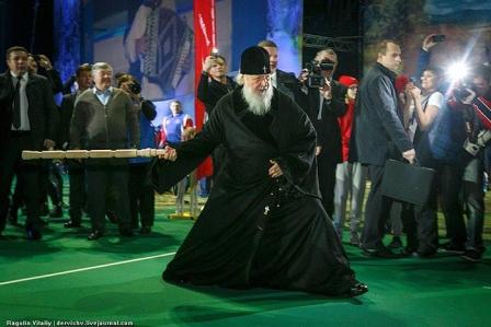 """Народные забавы """"святейшего"""" во время  Рождественского поста"""