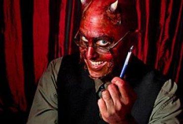 Украинцы не боятся продать душу дьяволу