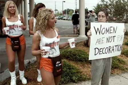 Феминизм как форма сектанства