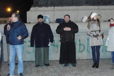 Сектантские 'моления' на Украине