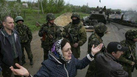 Славянское ополчение против киевской хунты