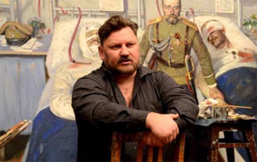 Павел Рыженко: Надеюсь, что мои картины разбудят генетическую память моих современников...