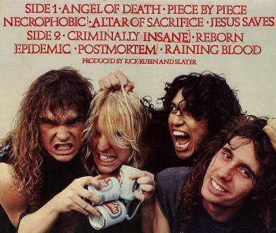 Пропаганда сатанизма рок-группой Slayer безпокоит православных