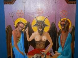 Поклонение сатане - крайний предел антихристианского мировоззрения