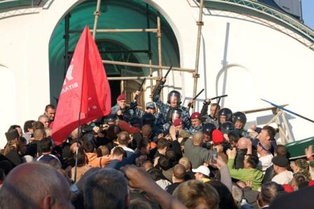 Дьявольский 'патриархат' и его беззакония на Украине (видео)