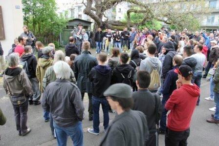 В Швейцарии состоялась демонстрация против открытия центра саентологии