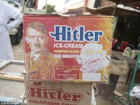 Дьявольский рекламный трюк: в Индии продают мороженое 'Гитлер'